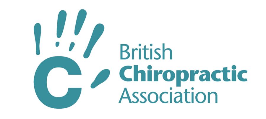 British Chiropractic Association logo in teal